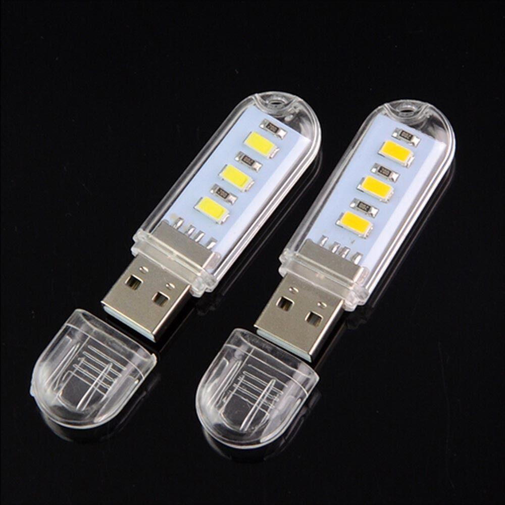 Flashlight Desk Lamp Mini Lamp USB Powered Light Bulb USB Bulb USB LED Light