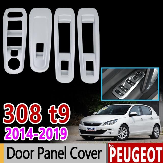 for Peugeot 308 ii t9 2014 2018 Chrome Trim Set Window ...
