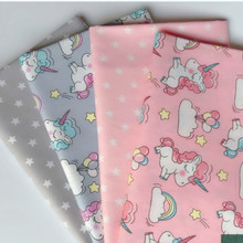 Cartoon twill fabric  Printed Twill Cotton Fabric DIY Sewing Quilting Fat Quarters Material For Baby&Child