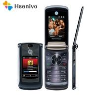100% Original Luxury Version Motorola V8 Original Unlocked GSM Flip Bluetooth MP3 FM Radion Mobile Phone Free shipping
