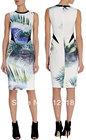 Cheap New Tropical Print Shift Dress Elegant Party Dresses DS176