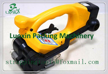 LX-PACK Lowest factory price Battery powered PET Strapping Tools for pallets bales crates cases various packages banding machine