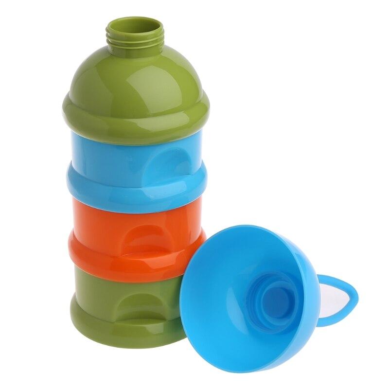 3 Schichten Tragbare Tier Kopf Cartoon Milch Pulver Formel Dispenser Bunte Infant Fütterung Lebensmittel Container Baby Lebensmittel Lagerung Box Aufbewahrung Von Säuglingsmilchmischungen