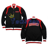 Anime SLAM DUNK Shohoku High School Basketball Team Cosplay Costume Black Baseball Jacket Coat Unisex Tops