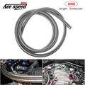 AN6 Плетеный тефлоновый Масляный шланг топливный шланг бензиновый тормозной шланг для гоночного мотоцикла тефлоновый шланг 5 meter/pack