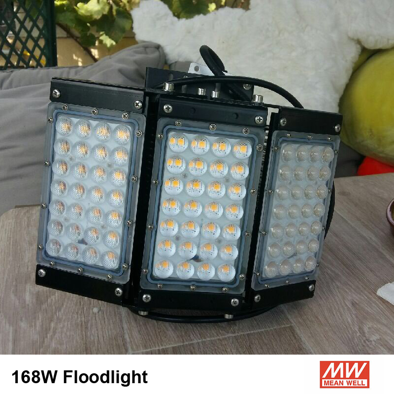 Industrial Lighting Cree led 3030 Led Lamp 500w tunnel light meanwell driver led floodlights AC85 277V