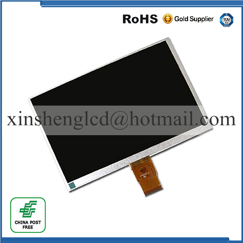 (Ref: XC-JP0750 XY FPDC-0211B )9inch 50pin LCD Display Screen LCD Panel Display Screen 210x127mm