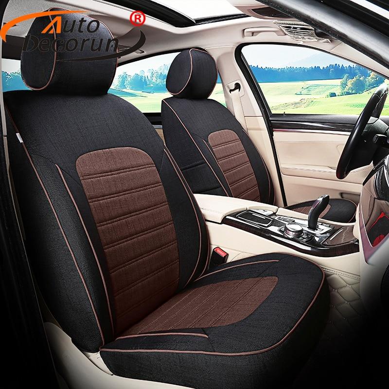 Land Rover Discovery Serie 2 Frontal Par Beige Tailored /& Impermeable cubiertas de asiento
