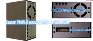 Image 3 - PM2.5 الهواء الجسيمات/الغبار الاستشعار ، الليزر داخل ، الإخراج الرقمي وحدة تنقية الهواء G5/PMS5003 ليزر عالي الدقة pm2.5 الاستشعار