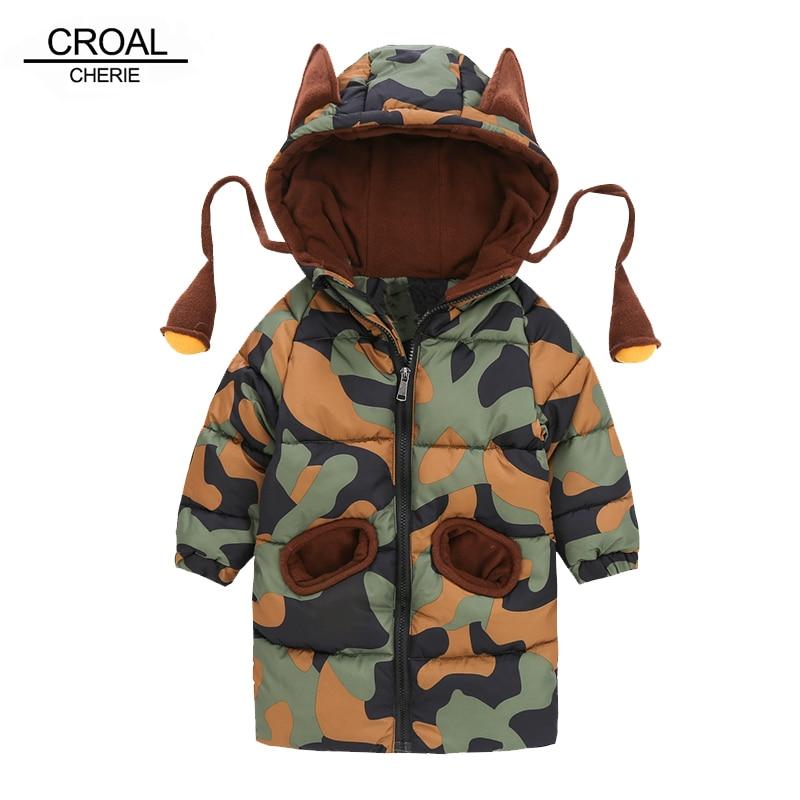 Croal Cherie 80 120 Cm Kinder Winter Jacken Für Teenager Mädchen