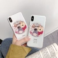 Cartoon Winnie Pooh Tiger Phone Case For Huawei P20 Pro P10 Honor 10 9 8X Mate 20 Pro Nova 4 3 3i Case Soft TPU Silicone Cover
