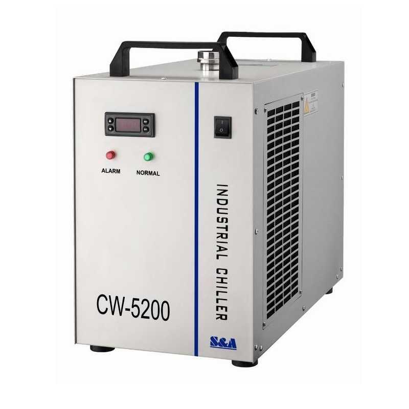 Công nghiệp máy làm lạnh Nước CW 5200AH Máy Làm Lạnh máy laser máy làm lạnh cw5200 Cho CNC Trục Chính Làm Mát ống Laser 130 W 150 w