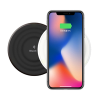 IRIVER BLANK OWC 401T Wireless Charger Portable Mini Charging Board QI EU Standard Support For IPhone