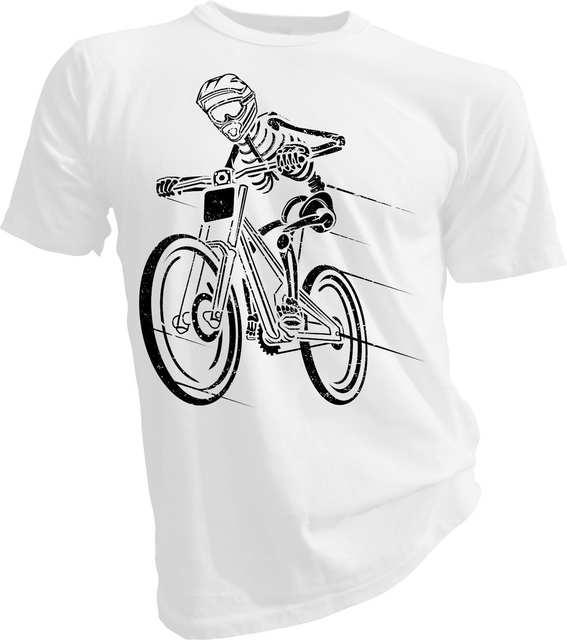e5b3a4e0 placeholder 2019 New Fashion Men Tee Shirt Naked Biker, Biker, Cyclist,  Mountain Biker Adult