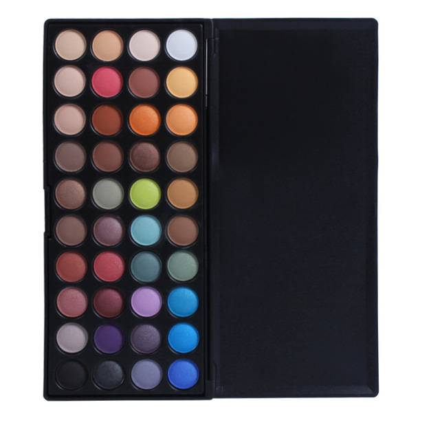 1set maquiagem 40 Color Matt  Shimmer EyeShadow Palette Professional Cosmetic makeup eyeshadow Pigment palette