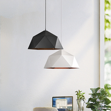 купить Geometric Industrial Pendant Lights Vintage Hanging Lamp Retro Loft Bar Kitchen Indoor Home Lighting E27 Suspension Luminaire по цене 1879.69 рублей