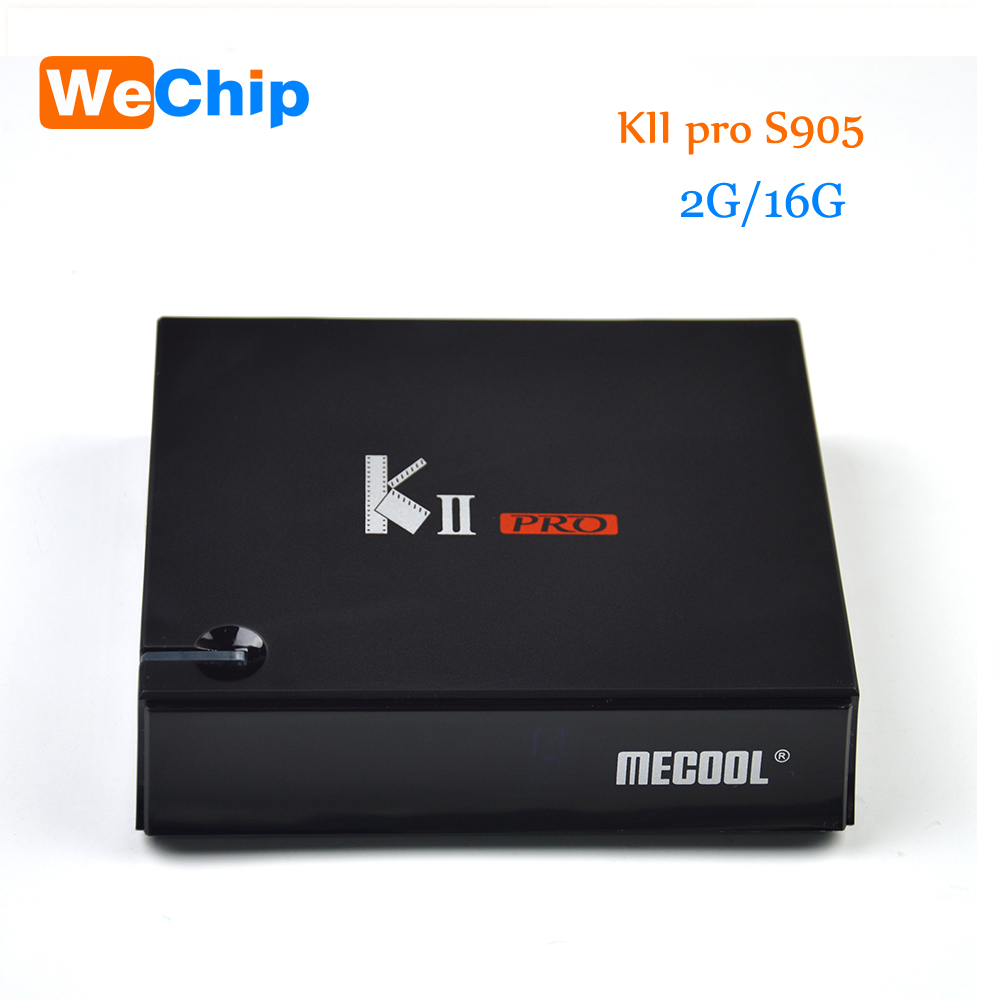 KII Pro + DVB S2/T2 2G 16G TV Box Android 5.1 Amlogic S905 Quad-core 4K*2K 2.4G&5G Wifi Bluetooth 4.0 Androidtvbox mxiii pro android amlogic s812 quad core 2g 8g 5g wifi tv box