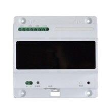 DH logo livraison gratuite DH porte interphone accessoire 2 fils contrôleur réseau VTNC3000A