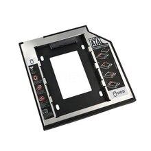 kebidu Universal 2.5 2nd 9.5mm Ssd Hd SATA Hard Disk Drive HDD Caddy Adapter Drive Bay