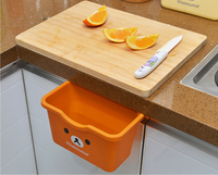 Cupboard hanging garbage bin kitchen storage box trash can.jpg 200x200