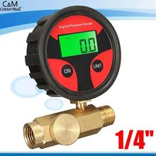 Pressure Display Air LCD Regulator Paint Spray Gun Digital Tire Pressure Gauge
