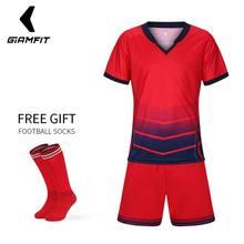 cb703a56a Free Gift Juventus Soccer Jersey 2018 Kids Football Kits Camisetas De  Futbol Uniforms Polyester Sports Clothes