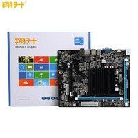 New ASL J1800M HK Onboard J180 DDR3 MATX Desktops Motherboard with VGA HDMI USB 3.0 5.1 channel mainboard