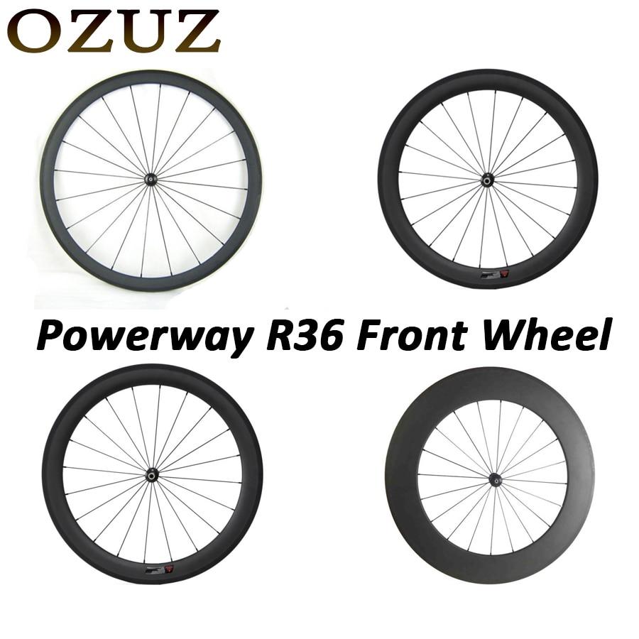купить Factory price straight pull 24mm 38mm 50mm 88mm only front wheel clincher tubular 3k matte or glossy China cycling carbon wheels по цене 12901.85 рублей