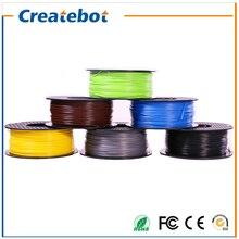Hot sale 3d printer filament ABS 1.75mm/3mm 1kg/spool full color option for MakerBot/RepRap/kossel/Createbot 3d printer