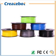 Hot sale 3d printer filament ABS 1.75mm/3mm 1kg/spool for MakerBot/RepRap/kossel/Createbot Full Color Optional