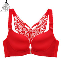 Plus Size Bra Bralette Push Up Bras For Women Lingerie No Wire Lace Brassiere Large Size