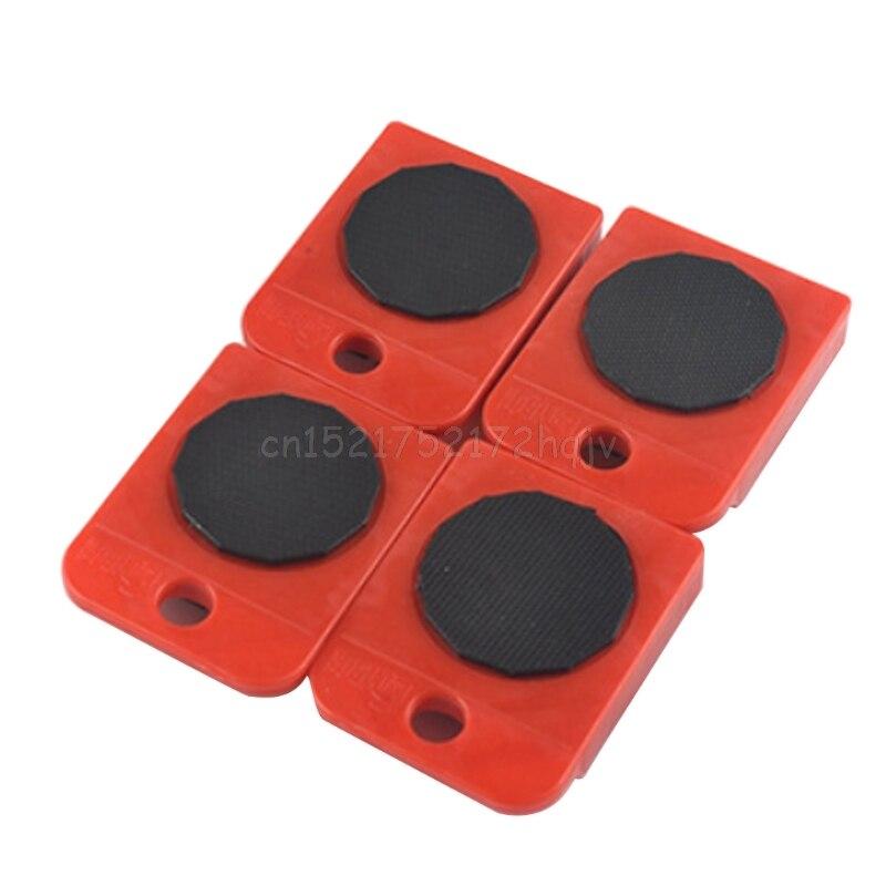 4 шт. перемещает мебельный инструмент транспортный переключатель подвижное колесо слайдер съемник ролик тяжелый Jy22 19 Прямая поставка