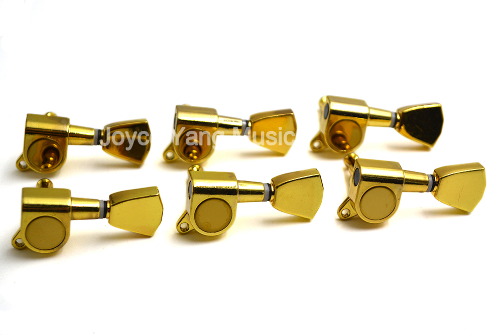 niko gold rhombus acoustic electric guitar tuning pegs tuners machine head 3l 3r 6 in line 6r. Black Bedroom Furniture Sets. Home Design Ideas