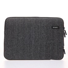 WIWU Wool felt  Waterproof Laptop Bag 11 12 13 14 15 15.6 Women Men Notebook Case Sleeve for MacBook Air