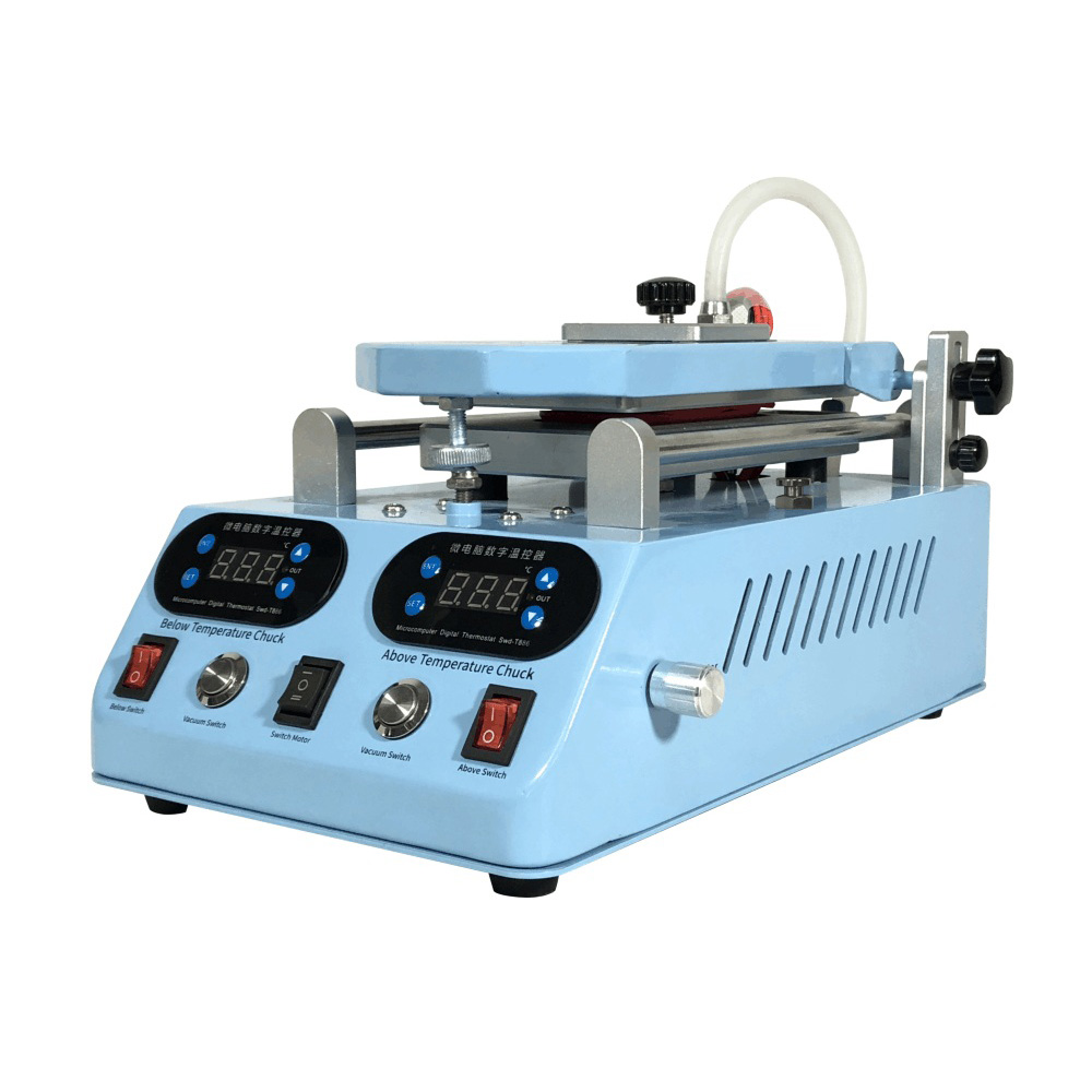 TBK 268 3 in 1 Automatic LCD Separator Machine Middle Frame Bezel Heating Separator For Flat Curved Touch Screen Repair