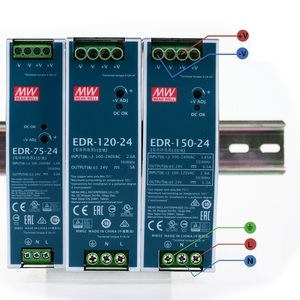 Image 2 - MEAN WELL EDR 75 120 150 12V 24V 48V meanwell EDR 75 120 150 12 24 48 V Single Output Switching Power Supply