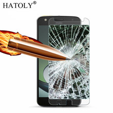 2PCS Screen Protector Glass For Moto Z Play Tempered Glass For Moto Z Play Glass For Motorola Moto Z Play XT1635 Film HATOLY motorola moto z play