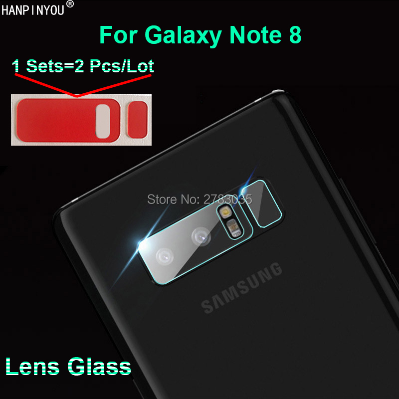For Samsung Galaxy Note 8 Note8 N950 6.3 Clear Ultra Slim Back Camera Lens Protector Rear Camera Lens Cover Tempered Glass Film