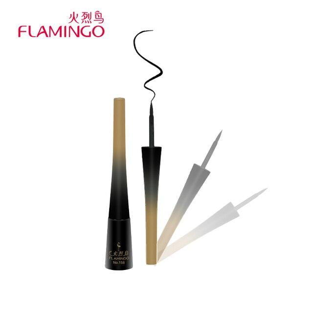 Фламинго Smooth Liquid Eye Liner Гель Beauty Макияж Косметические карандаш для глаз черный анти-пот легко носить Долгое подводка для глаз 158