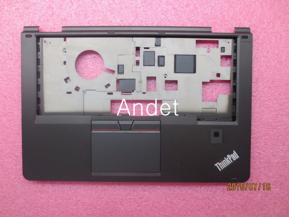 New Original for Lenovo ThinkPad Yoga 14 Palmrest Keyboard Bezel Upper Case Cover with Fingerprint Reader W/FPR 00HT613 new original for lenovo thinkpad l530 palmrest cover with touchpad fingerprint 15 6 keyboard bezel upper case 04x4617 04w3635