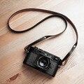 EHRLICH ARTISAN Handarbeit Aus Echtem Leder Kamera Gurt Kamera Schulter Schlinge Gürtel Breite (Doppel farbe Doppel seite) Kameragurt    -