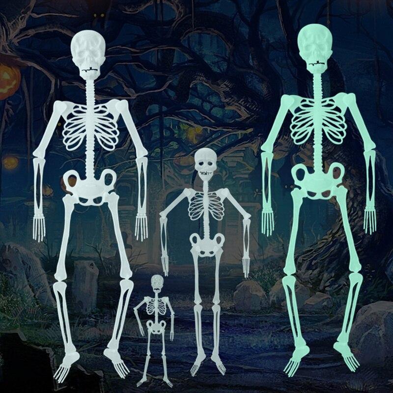 Aliexpress.com : Buy 1Pc New Horror Luminous Movable Skull