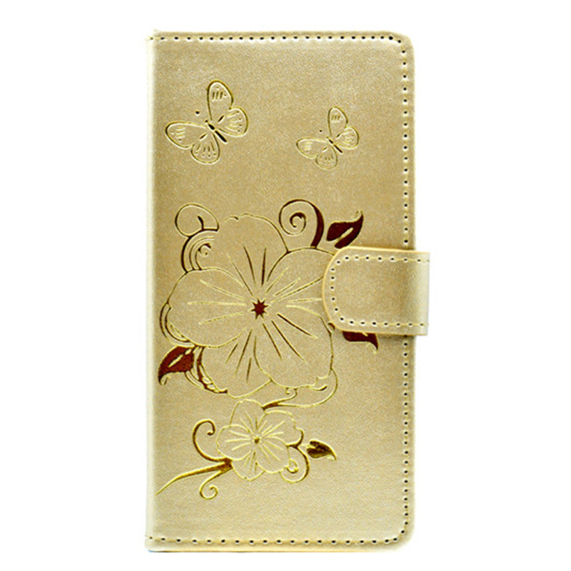 Butterfly Case Flip PU Leather Wallet Cover for iPhone 7 Plus Cute Phone Cover Magnetic Stand with Card Holder for iPhone 8 Plus
