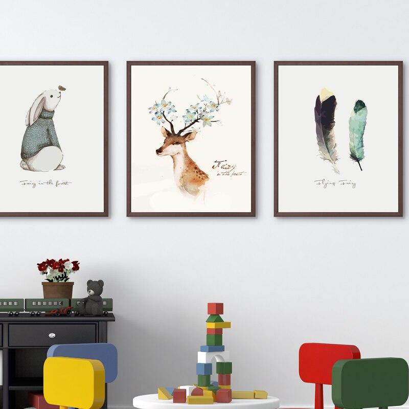 Dekorative 40*50 CM Malerei Wohnzimmer Minimalistischen Modernen Hängen Malerei  Sofa Hintergrund Wand Cartoon Wandmalereien