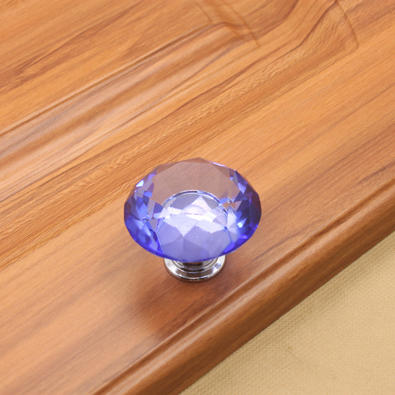 40mm Crystal Knobs Drawer Door Handle Pull Kitchen Cabinet Dresser Cupboard Wardrobe Furniture Hardware furniture drawer handles wardrobe door handle and knobs cabinet kitchen hardware pull gold silver long hole spacing c c 96 224mm
