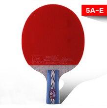 barang-barang sukan asli ikan double lima bintang lurus raket raket ping pong 5A-E double muka bola terbalik ping-pong kelawar