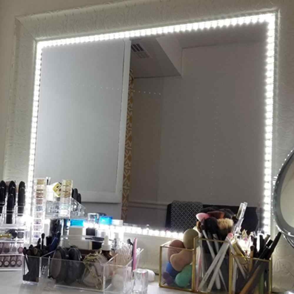 洗面化粧台化粧鏡ライト 5V USB Led フレキシブルテープ USB ケーブル駆動ドレッシングミラーランプ装飾 0.5 m- 5 メートル