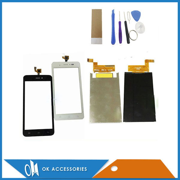 For Wiko Lenny  LCD Display Screen + Touch Screen New Replacement Good Quality 1PC/Lot|Mobile Phone LCD Screens| |  - title=