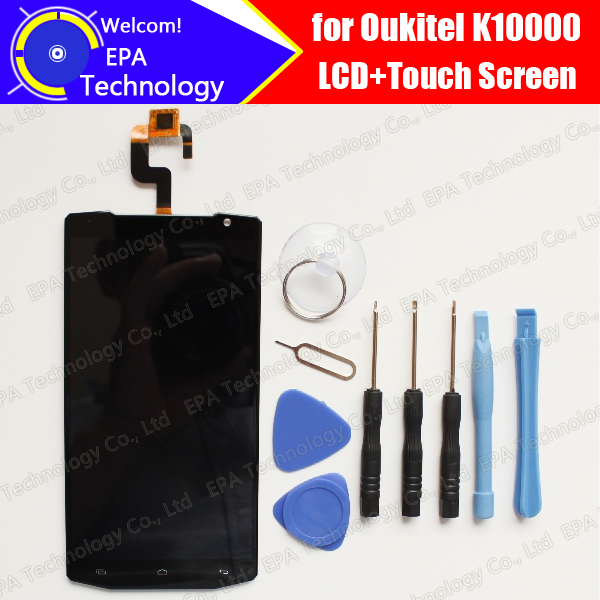Oukitel K10000 LCD Display With Touch Screen Digitizer Assembly 100 Original Tested LCD Screen Glass Panel