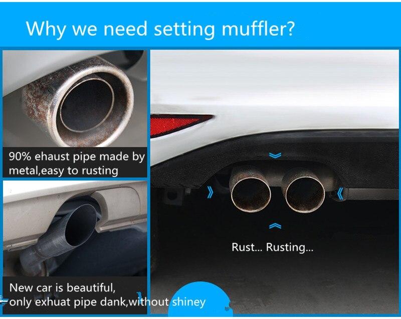 why we need muffler